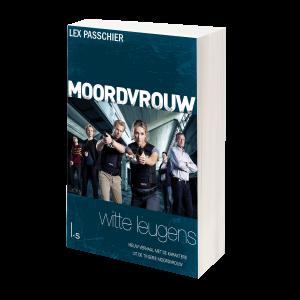 MOORDVROUW - Witte leugens - Packshot